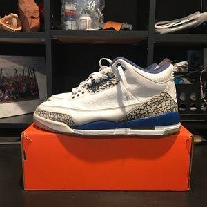 OG 2001 Jordan Retro 3 True Blue